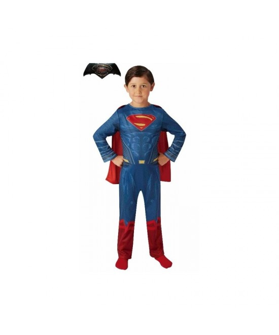 Disfraz Superman JL Movie classic niño