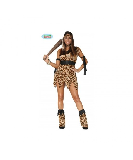 Disfraz Troglodita para mujer