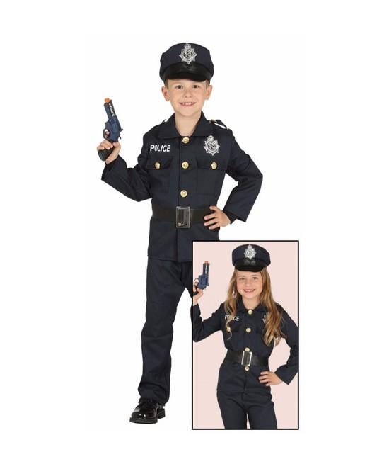 Disfraz Policia para niño