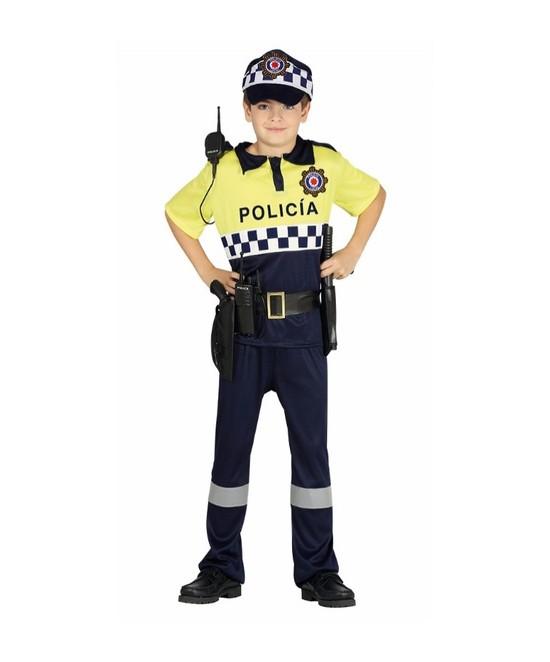 Disfraz Policía Local para niño