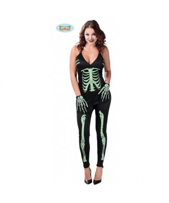 Disfraz Esqueleto Skeleton Fluorescente