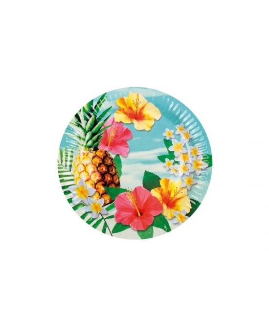 Platos  Hawaianos 23c...