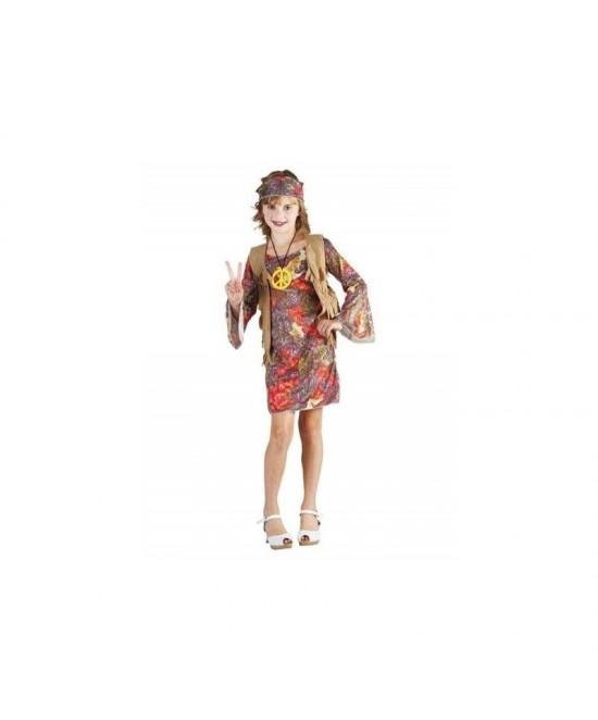 Disfraz Hippie chica infantil
