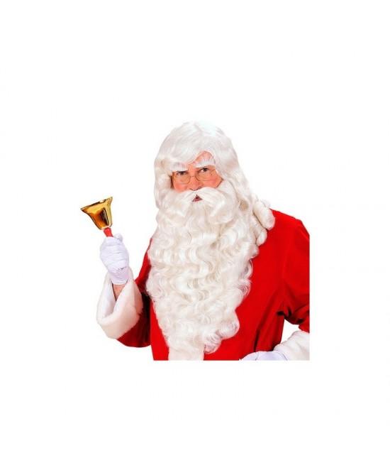 Peluca+barba+cejas Noel