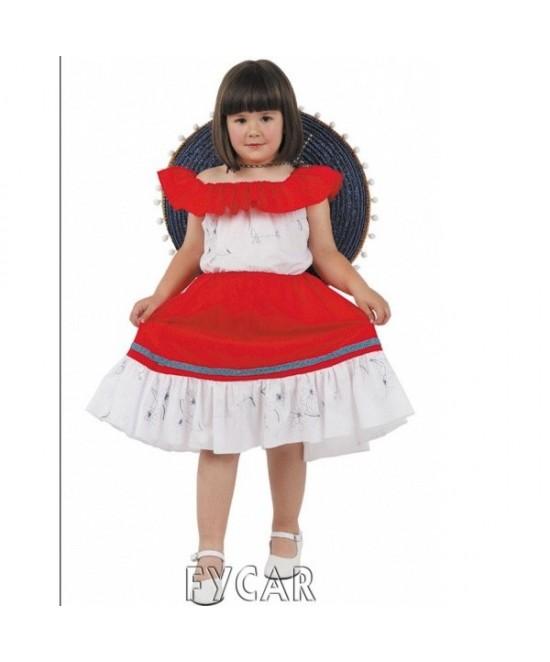 Disfraz Mejicana para niña