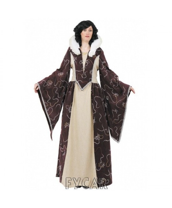 Disfraz Reina Medieval mujer