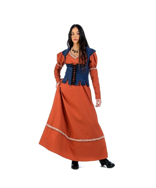 Disfraces medieval Edurne luxe mujer