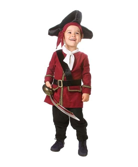 Disfraz Pirata Jake bebe y alevín