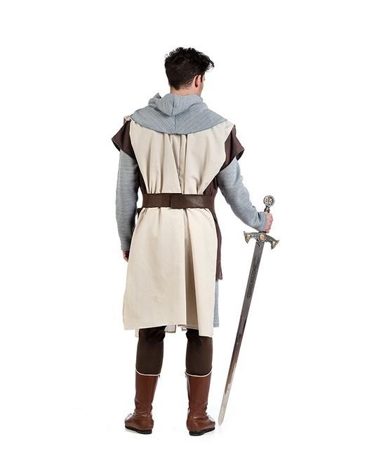 Disfraz Caballero Templario lujo hombre