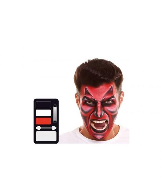 Set maquillaje Diablo 24x20 cm