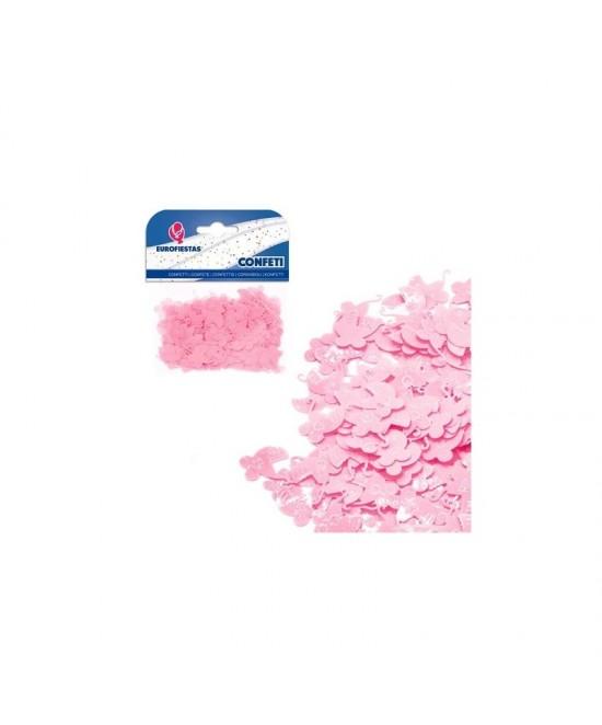 Confeti Brillante Carrito Azul/Rosa