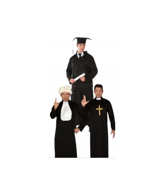 Disfraz 3 En 1 Cura Estudiante Juez