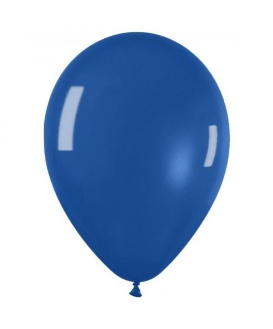 Bolsa 50 Globos Premium Cristal Azul