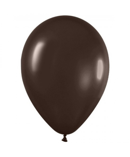 Bolsa 50 Latex Metal Chocolate 30 Cm.