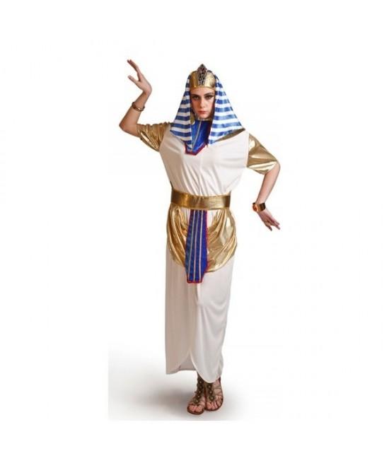 Disfraz Egipcia Blanca Mujer
