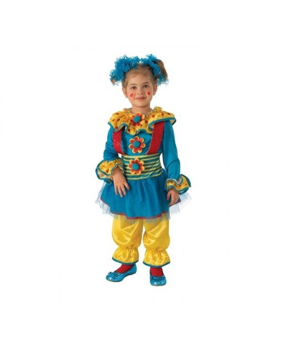 Disfraz Payasita puntitos niña
