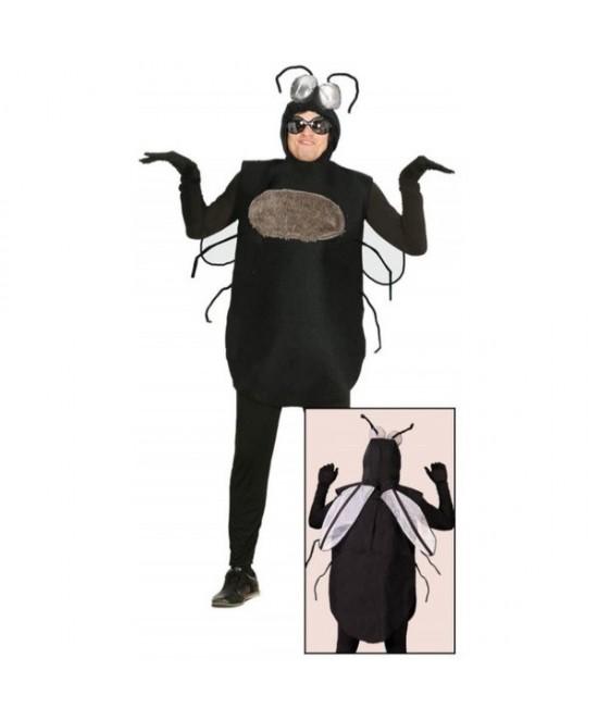 Disfraz Mosca Negra  Adulto