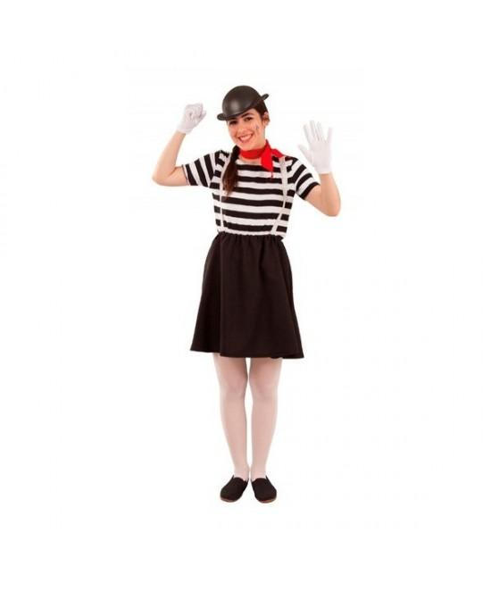 Disfraz Mimo para mujer