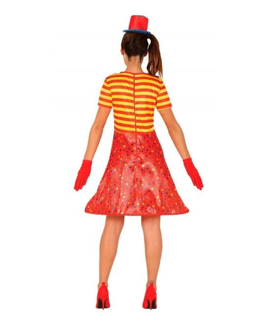 Disfraz Payasa para mujer