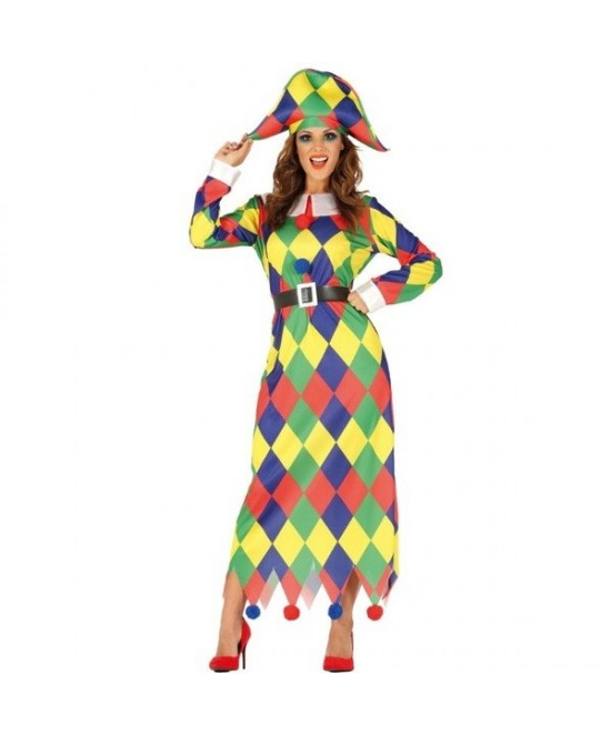 Disfraz Arlequina para mujer