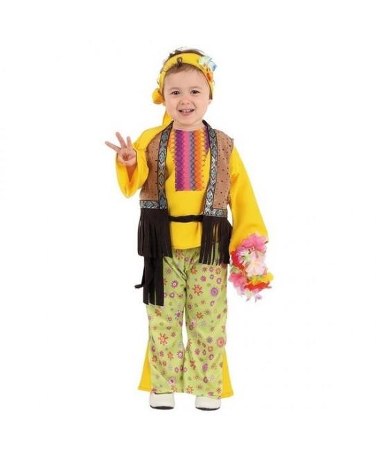 Disfraz Hippie para niña y bebe