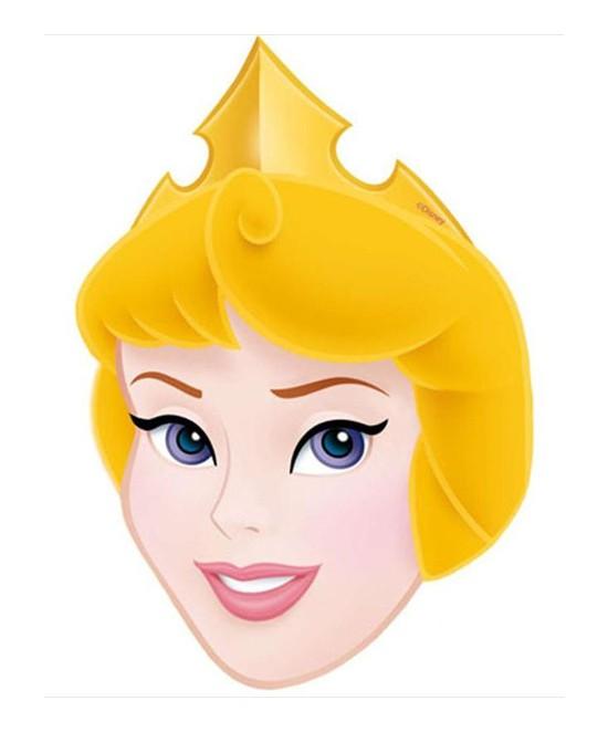 Careta Princesas Blister 6 Unid.