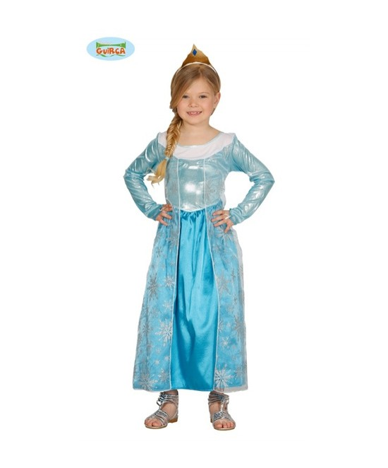 Disfraz Princesa Escarchada niña