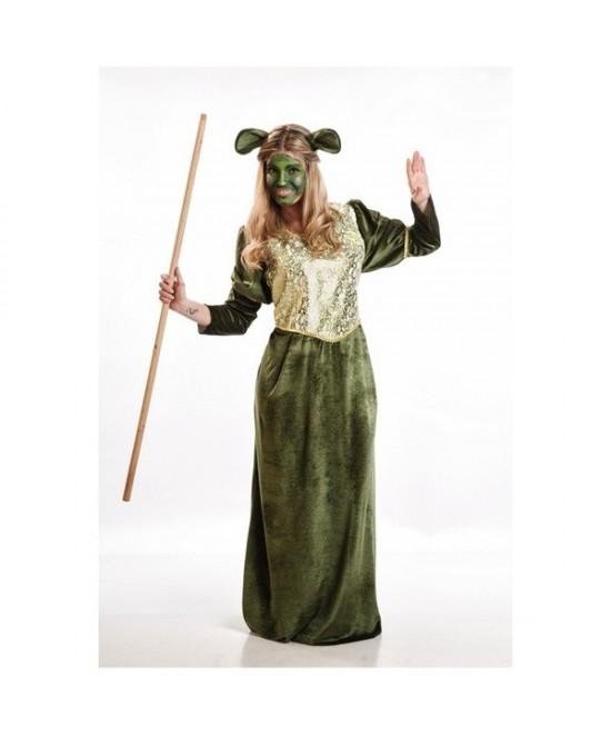 Disfraz Ogresa Verde mujer