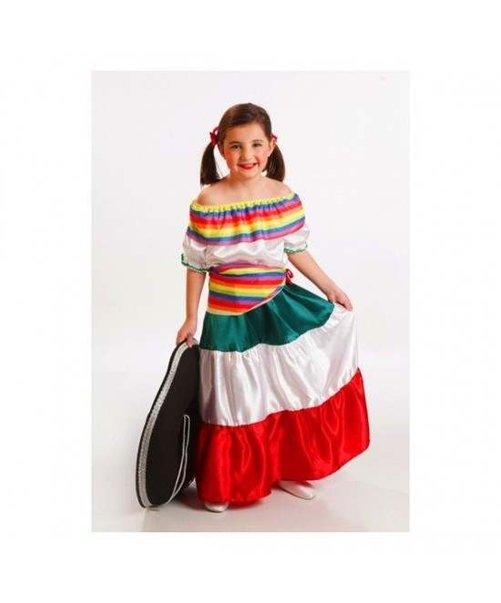 Disfraz Mejicana Bebé