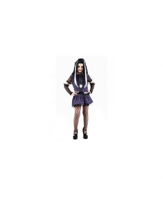 Disfraz Vampiresa Frankie niña