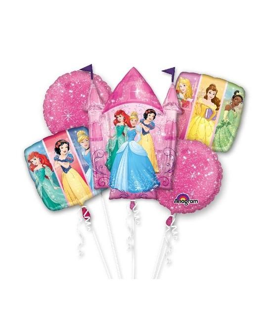 Ramo de globos foil Princesas
