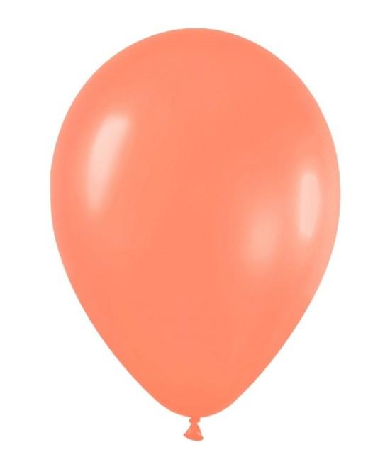 Globo Látex Neón Naranja