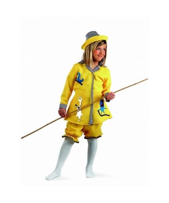 Disfraz Pescadora para niña