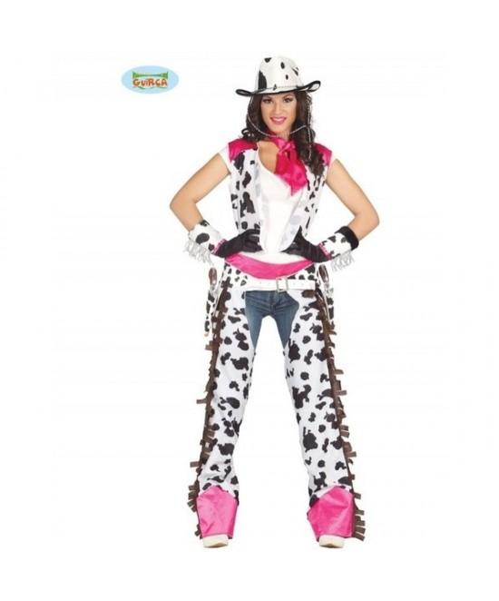Disfraz Cowgirl Rodeo Oeste Adulta