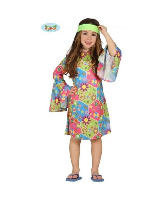 Disfraz Hippie para niña