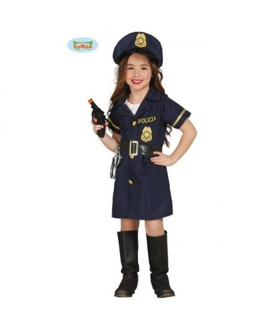 Disfraz police girl para niña