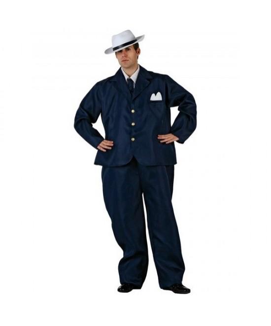 Disfraz Ganster Gordito para hombre