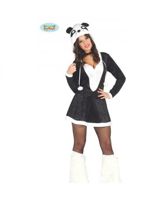 Disfraz Osita Panda para mujer