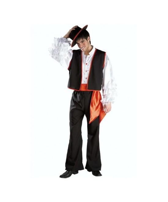 Disfraz Bodeguero - Flamenco Adulto