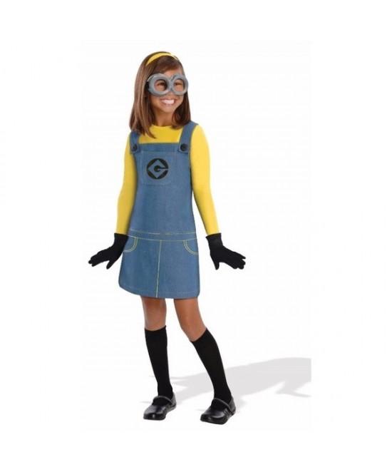 Disfraz Girl Minion para niña