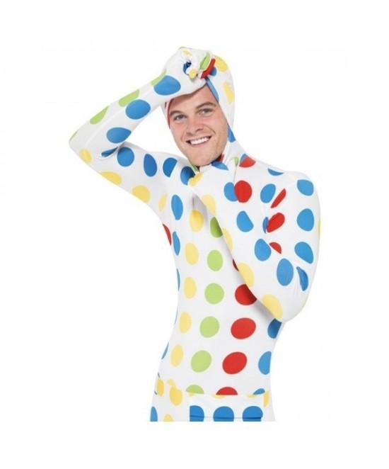 Disfraz Twister segunda piel para hombre