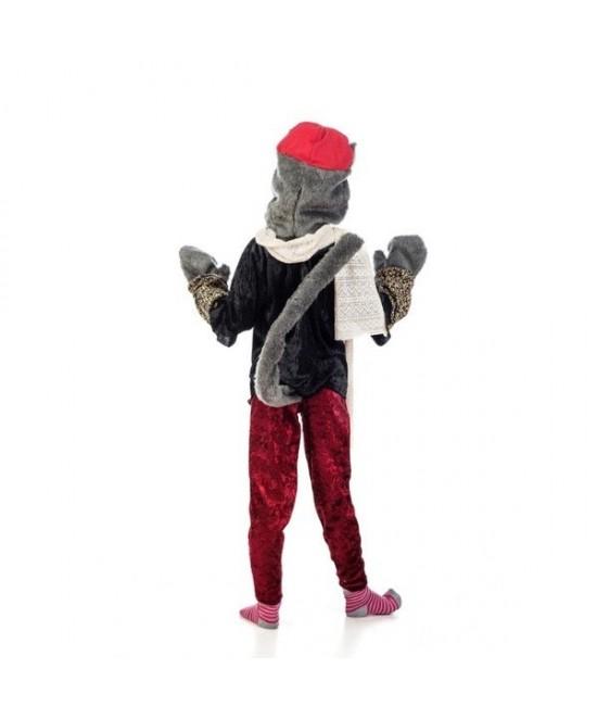 Disfraz Gata callejera deluxe para niña