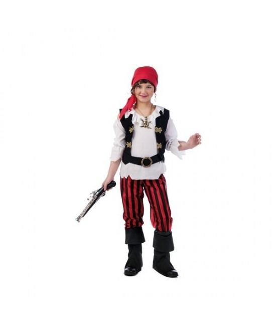 Disfraz Pirata Aventurera Infantil lux