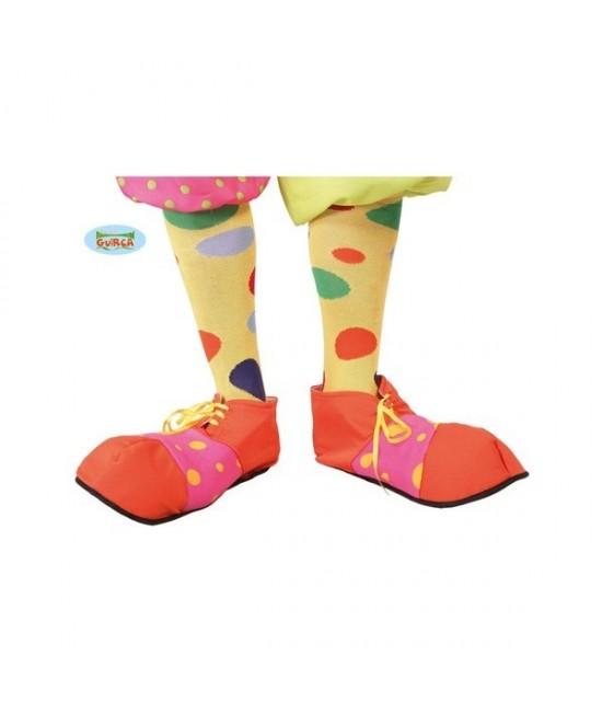 Zapatos Payaso Rosa/naranja