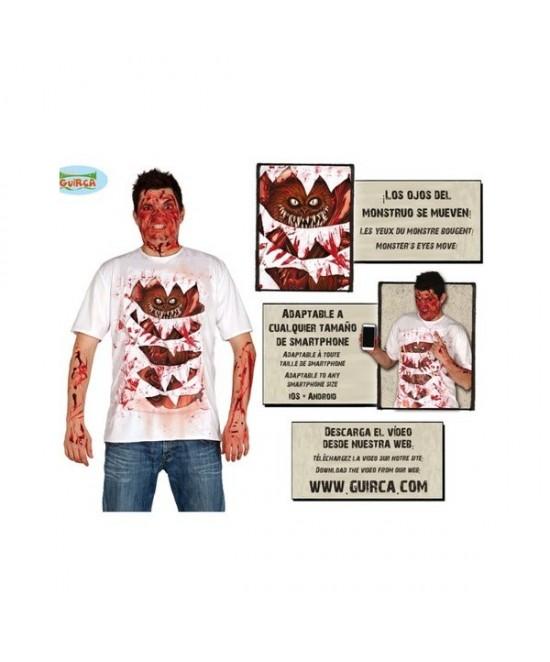 Camiseta Monstruo Adulto + App
