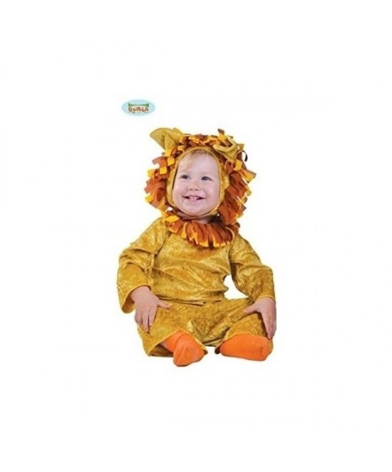 Disfraz León Bebé 6/12 meses