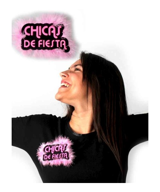 "Broche Chapa "" Chicas de Fiesta """