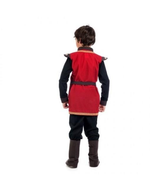 Disfraz Medieval Rojo Infantil