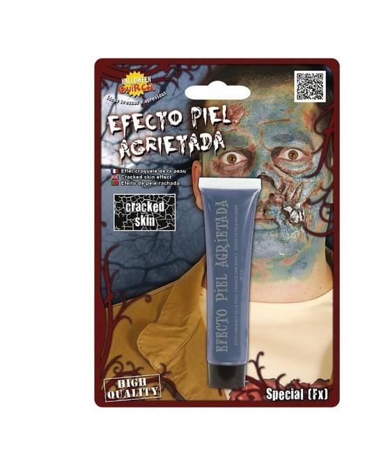 Efecto Piel Agrietada Zombie Azul 28gr.