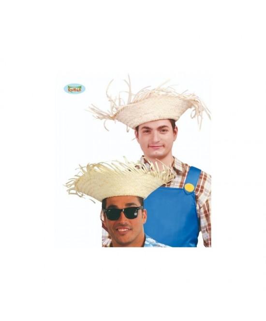 Sombrero Espantapájaros paja colores